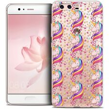 Cover Crystal Gel For Huawei P10 Extra Fine Flexible Fantasia Licorne Etoilée