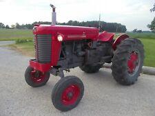 Massey Ferguson 85 Wide Frontend Tractor Runs Good Live 2sp Pto Amp Hydraulics 3pt