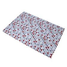 Baby Trend Grey/Red/ White Hidden Pyramid Play Yard Sheet