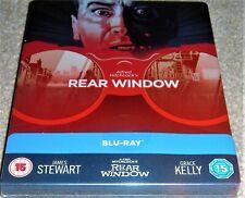 Rear Window Limited Edition Steelbook /Region Free Blu Ray /  WORLDWIDE SHIPPING
