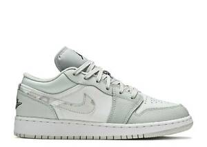 Nike Air Jordan 1 Retro Low GS WHITE CAMO SMOKE GREY SHADOW BLACK DD3234-100