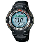 Casio Men's SGW100B-3V Digital Compass Twin Sensor Green Nylon Band Sport Watch