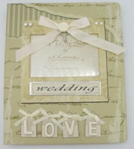 New At Home America Wedding Blessings Photo Album