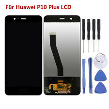 YANGJ for Huawei P8 LCD Screen and Digitizer Full Assembly with Frame Color : Black Black