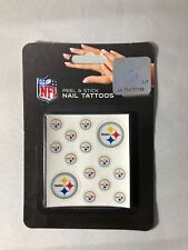Pittsburgh Steelers NFL Peel and Stick Nail Tattoos FREE SHIP!