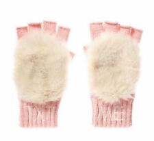 NEW Juicy Couture Girl Gloves Fingerless Mittens Pink