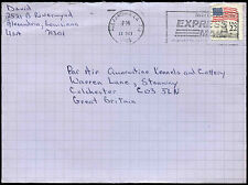 Switzerland 1986 Commercial Cover To England #C32730