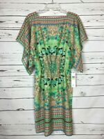 MAGGY LONDON New Tags Green Floral Party Summer Career Dress Women's Size 4 $138