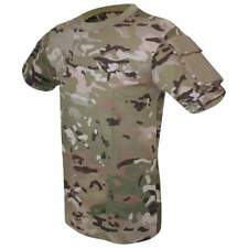 Viper Tactical Cotton T-Shirt Army Military Police Airsoft Velcro Sleeve Pockets