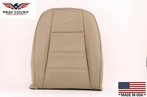 1999 2000 2001 02 03 2004 Ford Mustang V6  Leather Seat Covers In Tan