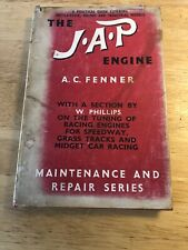 The J A P Engine Alexander Christian Fenner 1952 1st Edition Speedway