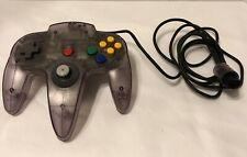 Nintendo 64 N64 Used Atomic Purple Controller Official Untested Preowned