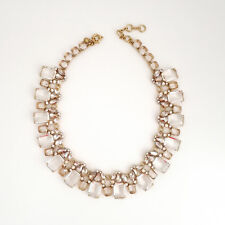 J.CREW Glass bead necklace item H0218, clear glass