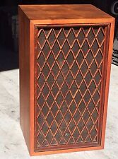 Rare Vintage Pioneer CS-88 walnut floor speaker w/ lattice grille