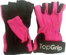 Gants TOPGRIP rose-petit non Tack pole dance x Fitness