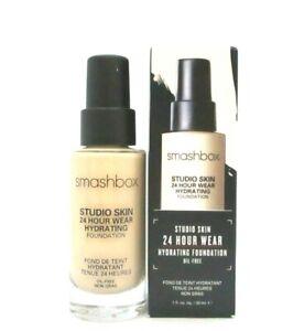 Smashbox Studio Skin 24 Hour Wear Hydrating Foundation ~ 0.3  ~ 1 oz / BNIB