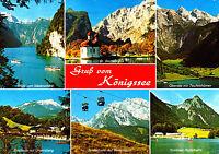 Gruß vom Königssee ; Ansichtskarte , gelaufen