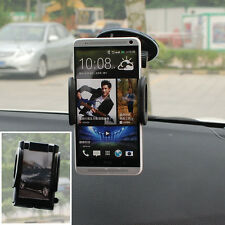 Universal Windshield Car Mount Holder Rotating Suction Stand For HTC Cell Phone