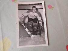 Original Gordon ENGLISH Harringay Racers 1950's Ice Hockey Photo