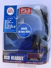 Logitech USB Headset w/ Microphone for PS2 New and Sealed in Damaged Package