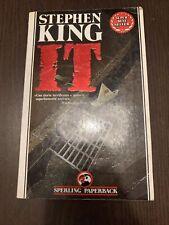 IT STEPHEN KING PRIMA EDIZIONE SPERLING 1990
