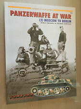 CONCORD PUBLICATION COMPANY n° 7014 - PANZERWAFFE AT WAR (2) MOSCOW TO BERLIN