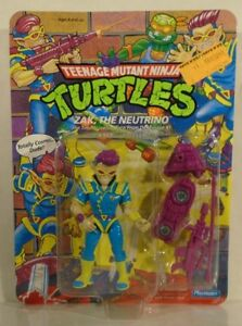 Teenage Mutant Ninja Turtles Zak The Neutrino Mint On Unpunched Card 1991 TMNT