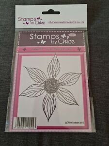 STAMPS BY CHLOE LARGE FANCY FLOWER