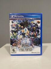 World of Final Fantasy (Sony PlayStation Ps Vita, 2016) Brand New Sealed!