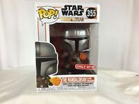 FUNKO Pop Vinyl MANDALORIAN W/ FIREBALL Target Exclusive GLOBAL SHIPPING C9+