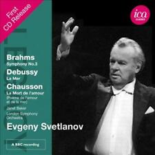 SVETLANOV CONDUCTS BRAHMS NEW CD