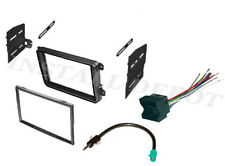 VW COMPLETE CAR STEREO RADIO INSTALL KIT DASH + WIRE HARNESS + ANTENNA ADAPTER