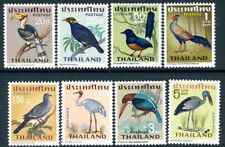 THAILAND-1967 Birds Set of 8 Values Sg 562-569 UNMOUNTED MINT V19088