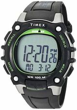 "Timex TW5M03400, Men's ""Ironman"" 100-Lap Watch, 5 Alarms, Indiglo, Chronograph"