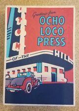 Ocho Loco Press Postcard Set