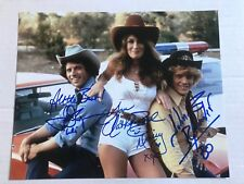 Dukes Of Hazzard Signed 8x10 Cast Photo
