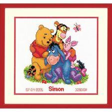 Vervaco  0014846  Disney  Winnie et ses amis   Broderie  Point de croix compté