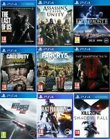 PS4 Playstation 4 Video Game Buy 1 or Bundle Up - Call of Duty WWII / Far Cry 5
