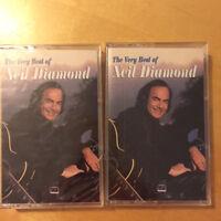The Very Best of Neil Diamond NEW HEARTLAND Cassette Tape BRAND NEW SEALED