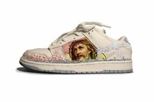 """Kito Wares SB Dunk Low """"Passion Of The Christ"""" Size 10.5 Ships Immediately"""