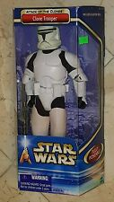 Star Wars CLONE TROOPER 12 Inch FIGURE by Hasbro ATTACK OF THE CLONES *NEW*