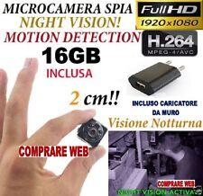 BUG SQ8 Camera Light FULL HD MOTION DETECTION HIDDEN Camera + SD 16 GB