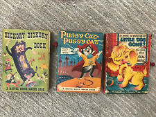 Three Mattel Music Maker Library Books