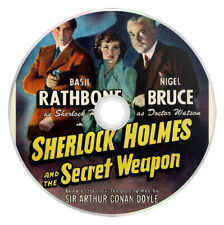 Sherlock Holmes and the Secret Weapon (1942) Basil Rathbone Film / Movie on DVD