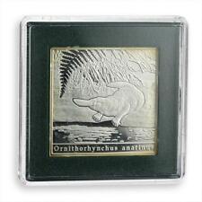 Niue 1 dollar Series: Oddities of Nature Platypus rectangular silver coin 2010