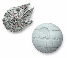 ITNT-SW: Star Wars Millennium Falcon and Death Star Magnet Set