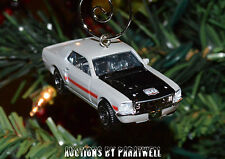Custom 68 69 70 Ford Mustang GT CS Christmas Ornament 1/64th Scale Chrome Adorno