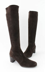 Stuart Weitzman NWOB Brown Suede Knee High Boot Shoe Size 7