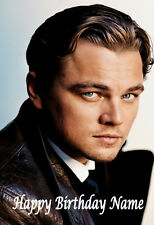LEONARDO DICAPRIO A5 Personalised Birthday Card Any Name / Age - LOVELY! 2