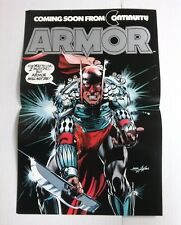 Armor promo poster (Continuity 1985) Neal Adams